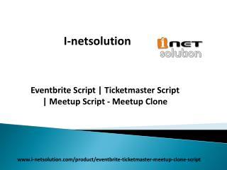 Eventbrite Script | Ticketmaster Script | Meetup Script