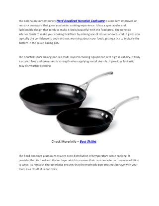 Rachael Ray Cucina Hard Anodized Nonstick Skillet with Helper Handle