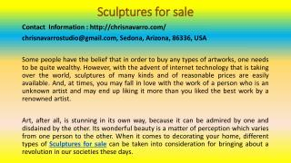 Beautiful Sculptures for Home Decor