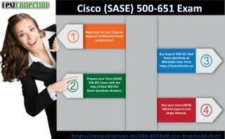 Cisco (SASE) 500-651 Real Exam Questions