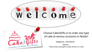 What to do to order any kind of cake from different flavors online?