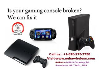Game Console Repair In Jonesboro ar | 1-870-275-7736