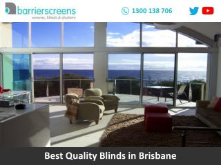 Best Quality Blinds in Brisbane