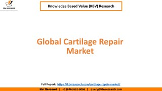 Global Cartilage Repair Market Size and Market Share