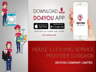 House Cleaning Bangkok by DO4YOU