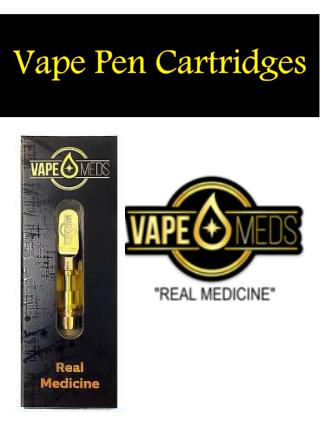 Vape Pen Cartridges