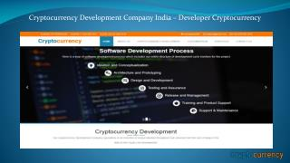 Cryptocurrency Creation Service Development Company – developer cryptocurrency