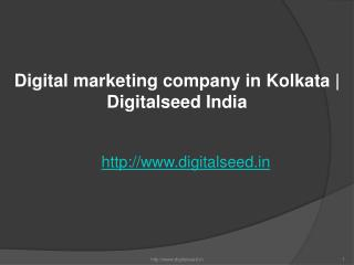 Digital marketing company in Kolkata | best online marketing agency in Kolkata | Digitalseed