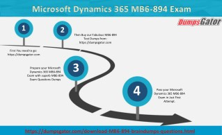 Microsoft Dynamics 365 MB6-894 Questions Answers Dumps