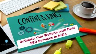 Optimize Your Website with Best SEO Services in India