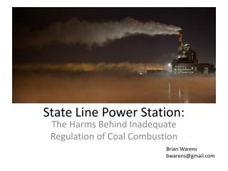 State Line Power Station: