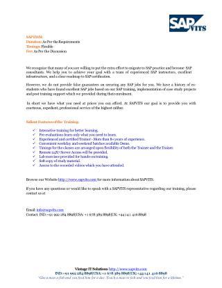 SAP EWMS PPT