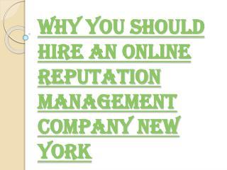 Online Reputation Management- Eliminate the Negative Remarks