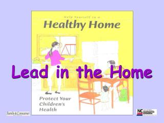 Lead in the Home