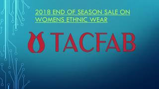 2018 End Of Season Sale On Women Ethnic Wear, Salwar Suit & Salwar Kameez
