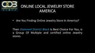 Online Local Jewelry Store America
