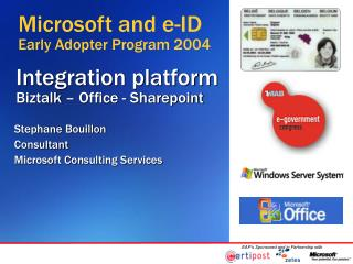 Integration platform  Biztalk   Office - Sharepoint