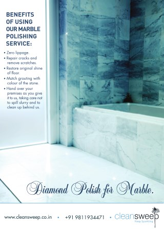 Diamond Polish for Marble