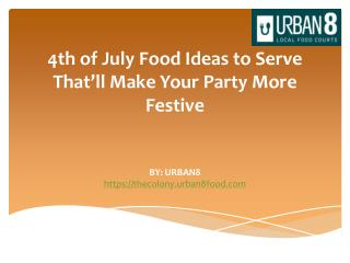 4th of July Food Ideas to Serve That'll Make Your Party More Festive