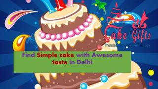 Order flavour birthday cake online in Malviya Nagar Delhi