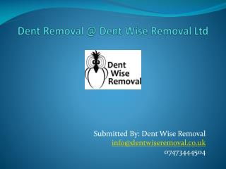 Dent Removal @ Dent Wise Removal Ltd