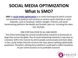 Social media optimization company in delhi ncr