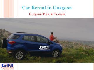 Car Rental in Gurgaon