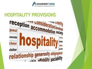 Detailed Report on Hospitality Marketing Service Sector