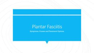 Plantar Fasciitis Symptoms, Causes and Treatment Options - Certified Foot