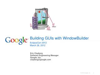 Building GUIs with WindowBuilder