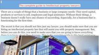 Intellectual property law in Brooklyn