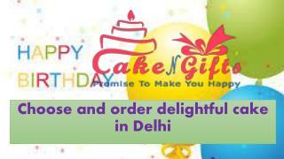 Order midnight cake online in Sarai Rohilla Delhi