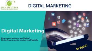 Best Digital Marketing company in South Delhi | MCM InfoTech
