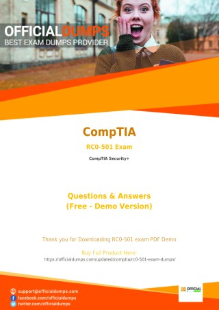 70-741 Exam Questions - Affordable CompTIA RC0-501 Exam Dumps - 100% Passing Guarantee