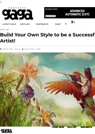 Build Your Own Style to be a Successful Digital Artist!