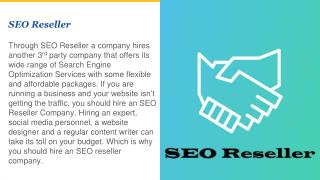 What are the benefits of SEO Reseller Services