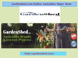 Garden Sheds, Timber Sheds, Absco Sheds   Gardenshed.com