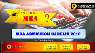 MBA Admission in Delhi - MBA Course | Admission18