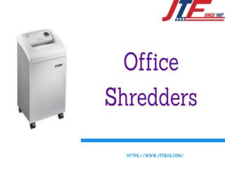 Office Shredders- Unique Office Equipment