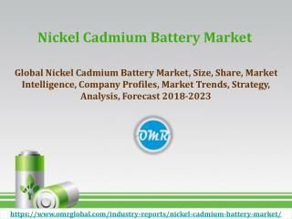 Nickel Cadmium Battery Market