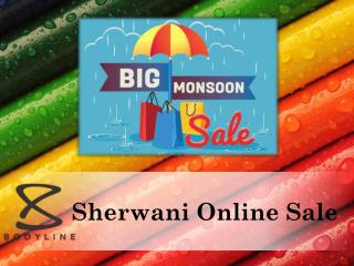 Sherwani Online Sale