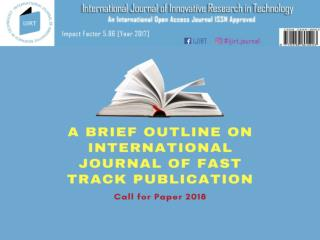 Innovative research journal in India