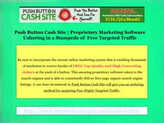 Push Button Cash Site by Daniel Young