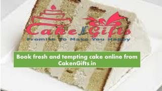 Order same day cake online in Rk Puram Delhi