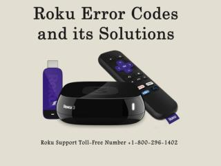 Fix Error Code Issues of Roku Device