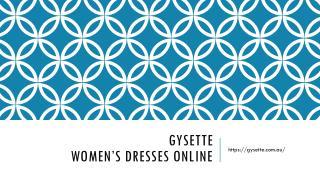 Gysette-Women's Dresses Online