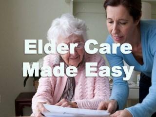 Elder Care Made Easy