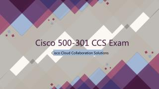 2018 500-301 Cisco Real Dumps IT-Dumps