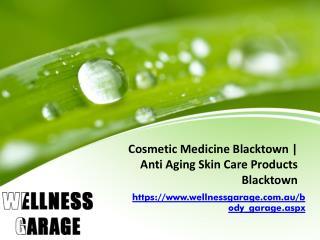 Cosmetic Medicine Blacktown