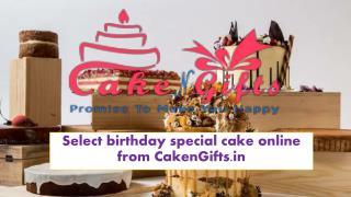 Online vanilla cake shop in Badarpur Delhi